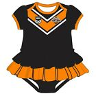 WEST TIGERS WESTS NRL TEAM GIRLS FOOTYSUIT TUTU FRILL SKIRT BABY INFANT ONESIE