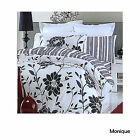 MONIQUE Reversible Quilt Duvet Cover + Pillowcase(s) + Fitted Sheet SINGLE KING