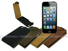 Suede Leather Flip Case Cover for Apple iPhone 5S 5