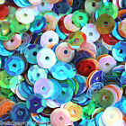 MIXED COLOUR AB CUP SEQUINS 7mm Sewing Scrapbook Cardmaking Craft Embellishment