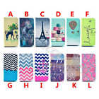 Leather Wallet Chic Rubber Stand Card Flip Fitted Case Cover For Samsung Galaxy