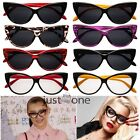 Cool Women Lady Sexy Cat Eye Style New Look Optical Clear Glasses Sunglasses New
