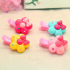 2PCS Beautiful Cute Flowers Baby Girl Children Hair Pin Clips EFJ6