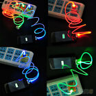 Beautiful Trendy Useful LED USB Charge Data Synchronous Cable for Android