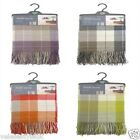 Chateau Check Throws In 4 Colour Options