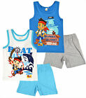 Boys Disney Jake And The Neverland Pirate Vest Top Shorts Set Age 3 4 5 6 Years