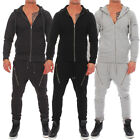 Pique Slim Fit Trainingsanzug Jogginganzug Fleece Suit Sportanzug