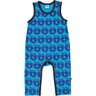 BNWT Baby Boys Girls SMAFOLK Apples DUNGAREES romper playsuit NEW blue turquoise
