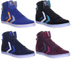 Hummel Stadil Hi Mens Canvas Boots Hi Top Trainers Size 6 7 8 9 10 11 12