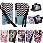 For LG Aspire LN280 306G 305C Design Leather Credit Card Wallet Case Stand Cover