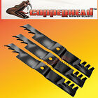 "Copperhead Commercial Heavy Duty Multch Blades 3 Blades  60"" Cut Lazer Z Triton"