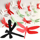 Fashion 3D Dragonfly Wall Decoration Sticker Girl Home Art Decor Decal New x20