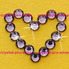 (Any SIZE) Tanzanite Iron On Flatback Hot fix Rhinestones Crystal Shine Shine