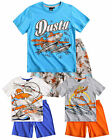 Boys Official Disney Planes Pyjamas Kids Short Sleeve Pjs Set New Age 3-8 Years