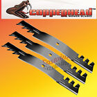"Copperhead Commercial Heavy Duty Multch Blades 3 Blades  60"" Cut 7-Iron Deck.USA"