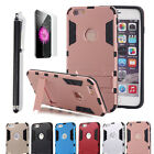 "Hybrid Rubber Hard Slim Case Cover with Kick-Stand Fr iPhone 6 4.7""/ 6S Plus 5.5"