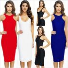 Womens Celeb Sexy Club Vest Sleeveless Bodycon Going Out Party Evening Dress