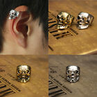 Fashion Gothic Punk Vintage Skull Ear Cuff Wrap Clip on Earring No Piercing Gift