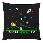 Invaders Baumwoll-Kissen 28x28cm Big Bang Cooper Space Theory Sheldon Game Retro