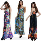 Women Long Maxi summer beach hawaiian Boho evening sundress 2X 3X 4X5X PLUS SIZE