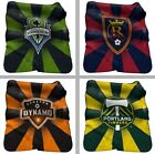 "Choose Your MLS Soccer Team 50 x 60"" Plush Raschel Starburst Throw Blanket"
