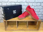 DC SHOES UK 6,8,10 RED GRAND SUEDE SKATE BMX SKATING TRAINERS RRP £65