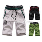 Fashion Men Casual Black Outdoor Sport Summer Short Beach Pants Sweatpants