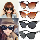 Cat Eye Sunglasses Ladies Women Retro Vintage Shades Oversized Designer Large