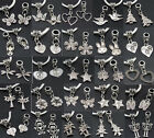 Lot Wholesale Tibet Silver Dangle Charms Bead Fit DIY European Charm Bracelet