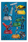 Thunderbirds Are Go Profiles Poster New - Maxi Size 36 x 24 Inch