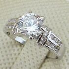 Size 5 6 7 8 9 10 Nice White  2.3ct CZ Jewelry Gold Filled Lady Gift Ring R1468