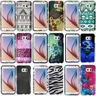 For Samsung Galaxy S6 Pattern Printed Design Snap On Hard Plastic Cover Case