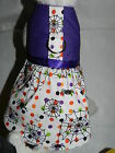 DOG CAT FERRET Couture Harness Dress~ITSY BITSY SPIDER Web Halloween Dot Theme