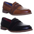 Justin Reece Mens Slip on Leather Suede Casual Loafer Design Look Size UK 6 - 12