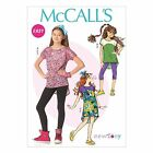 McCall's 7114 Easy Sewing Pattern to MAKE Stretch Top & Dress also Plus Size
