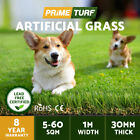 10-60 SQM Roll Synthetic Turf Artificial Grass Plastic Plant Lawn Flooring 30mm