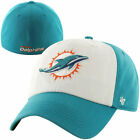 Mens Miami Dolphins '47 Brand Aqua/White Classic Freshman Franchise Fitted Hat