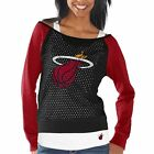 Women's Miami Heat Black Holy Raglan Long Sleeve Top and Tank Top Set