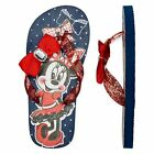 NWT DISNEY MINNIE MOUSE  Flip Flop Thong Sandals Youth 13 1 2 3
