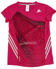 Adidas Badminton Tennis FORMATION Sports T-Shirt for Women Ladies Hot Pink