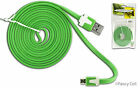 6ft Heavy Duty Data Sync Charging Flat Tangle Free Cable Cord For Kyocera Phones