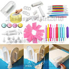 MIXED Fondant Cake Decorating Smoother Sugarcraft Polisher Embosser Baking Tools