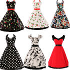 SUMMER~ on Sale Lady Rockabilly Swing 50s 60 Pinup Housewife short Evening Dress