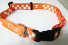 TENNESSEE VOLS ADJUSTABLE SOFT NYLON DOG COLLAR