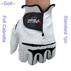 Full Cabretta Leather Glove Men's Golf Gloves Sports Left or Right Hand 22-27# 1