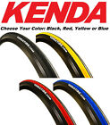 blue tire - 1 or 2Pak Kenda K1081 Kadence 700 x 23 Road Bike Tire Black Yellow Red Blue 260g