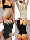 Vedette Colombian Thong Body Shaper, Fajas Reductoras Tanga Black - Nude C57