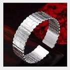 925 Sterling Silver Cuff Bracelet Bangle Chain Wristband Women Fashion Jewelry <br/> 13000+ SOLD !!! Top Quality / Free P&amp;P / 67+ Styles !!