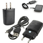 US/EU Plug Wall Home Travel AC Power Charger Micro USB Data Snyc Cable For Phone