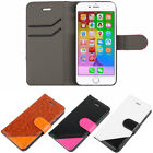 Hybrid PU Leather Flip Wallet Card Cover Case Stand For iPhone 6 Plus 5.5''